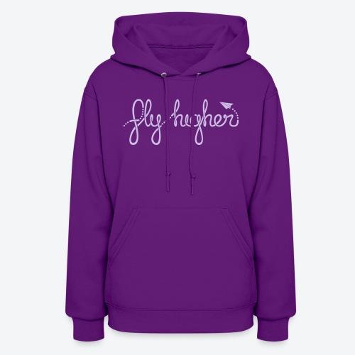 Fly Higher - Light Purple - Women's Hoodie