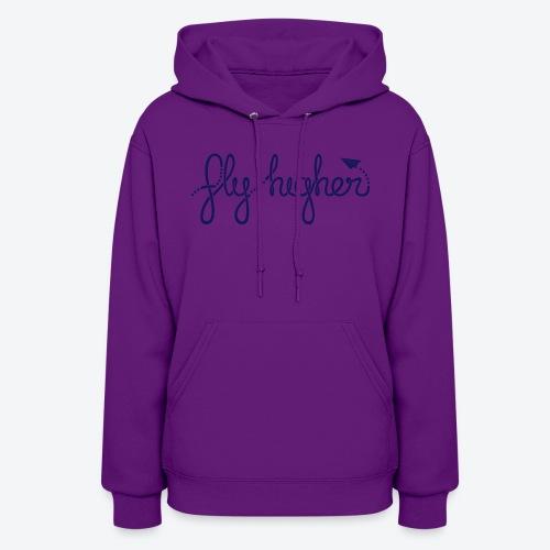 Fly Higher - Navy - Women's Hoodie