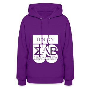 Its On Betas White - Women's Hoodie