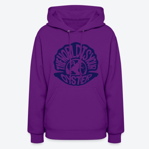The World Is Your Oyster - Dark - Women's Hoodie