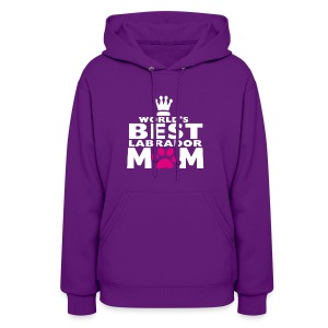world best mom - Women's Hoodie