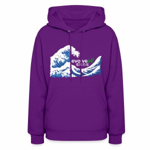 EvolveAll Riding The Wave - Women's Hoodie
