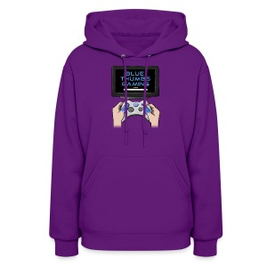 Blue Thumbs Gaming: Gamepad Logo - Women's Hoodie