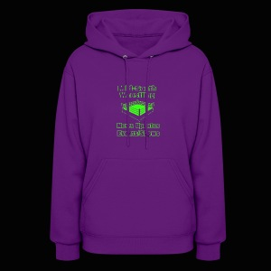 Mid-South Wrestling News Neon/Lime Green - Women's Hoodie