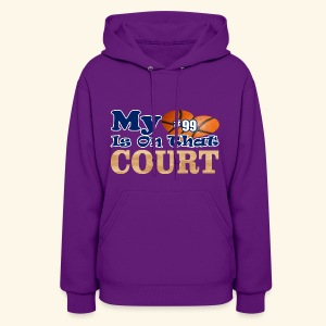 HEART IS ON COURT99 - Women's Hoodie