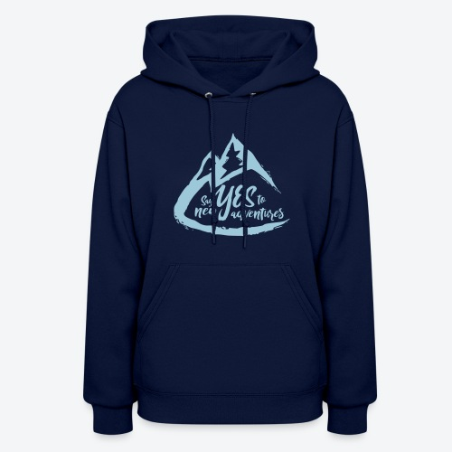 Say Yes to Adventure - Coloured - Women's Hoodie