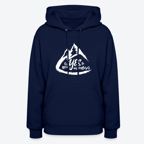 Say Yes to Adventure - Light - Women's Hoodie