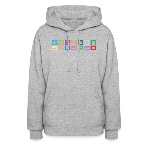 Greydon Square Colorful Tshirt Type 3 - Women's Hoodie