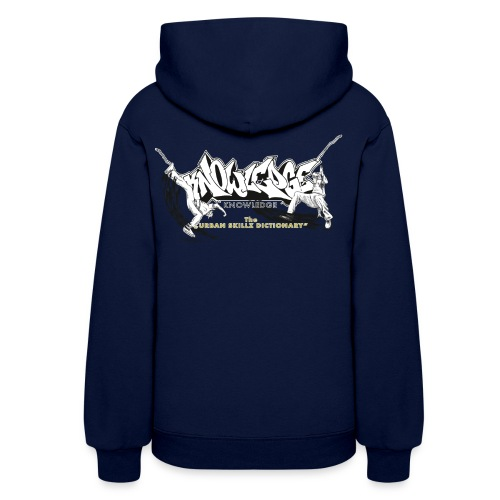 KNOWLEDGE - the urban skillz dictionary - promo sh - Women's Hoodie