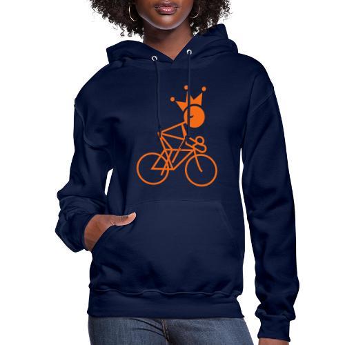 Winky Cycling King - Women's Hoodie