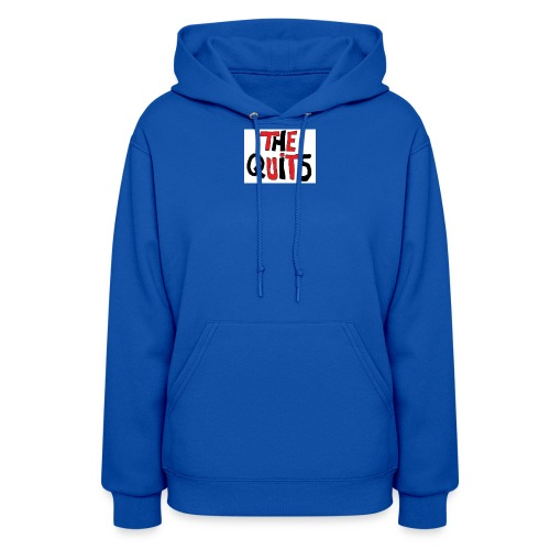 quits logo - Women's Hoodie