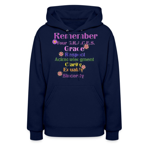 Remember Your GRACES - Women's Hoodie