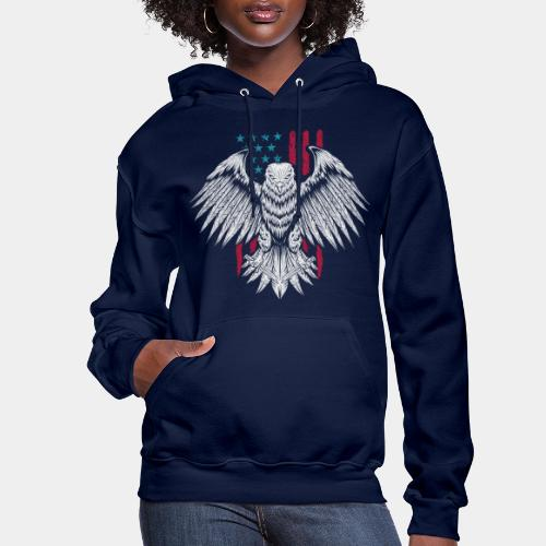 usa eagle american - Women's Hoodie