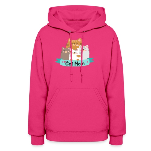 Cat MOM, Cat Mother, Cat Mum, Mother's Day - Women's Hoodie