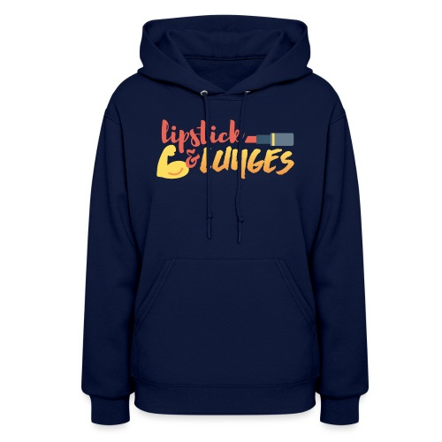 Lipstick and Lunges - Women's Hoodie