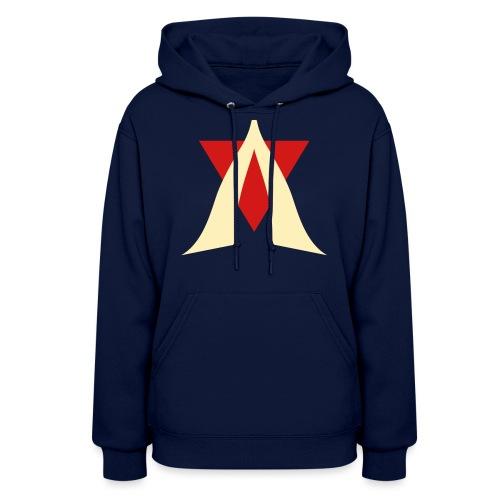 V Logo Jimmy Casket - Women's Hoodie