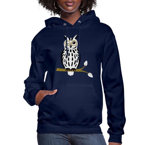 Winky Owl - Women's Hoodie