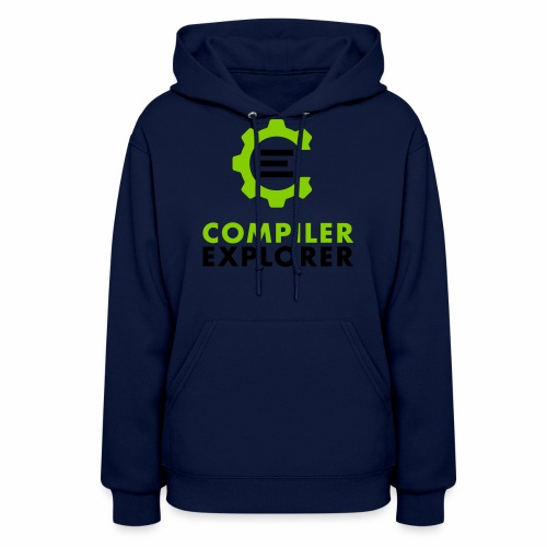 Logo and text - Women's Hoodie