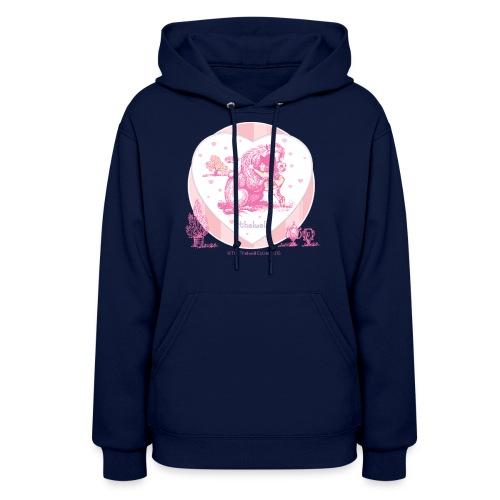 PonyHugging Thelwell Cartoon - Women's Hoodie