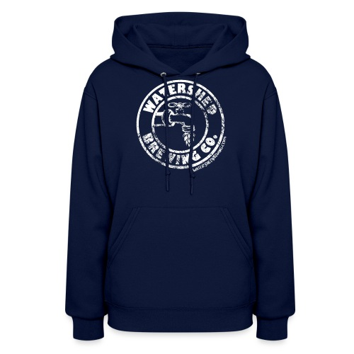 Watershed Faded White - Women's Hoodie