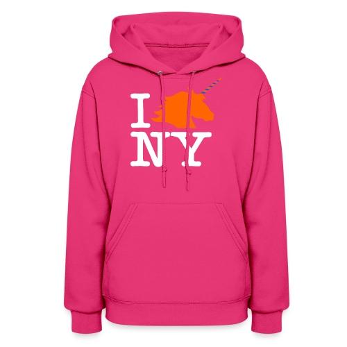 I Unicorn New York (Kristaps Porzingis) - Women's Hoodie