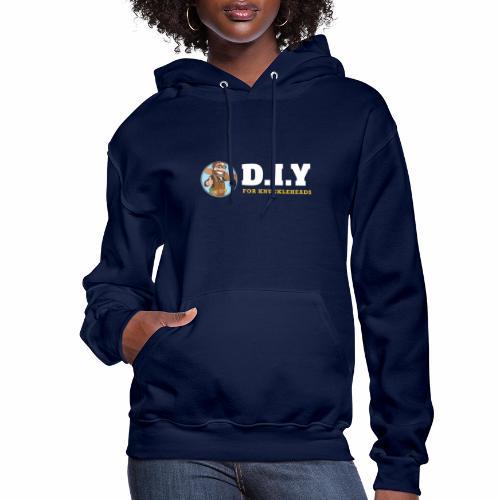 DIY For Knuckleheads Logo. - Women's Hoodie
