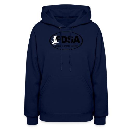 FDSA BLACKWHITE LOGO 2018 - Women's Hoodie