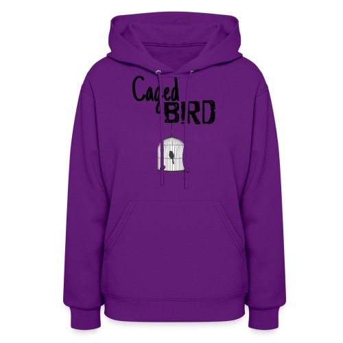Caged Bird Abstract Design - Women's Hoodie