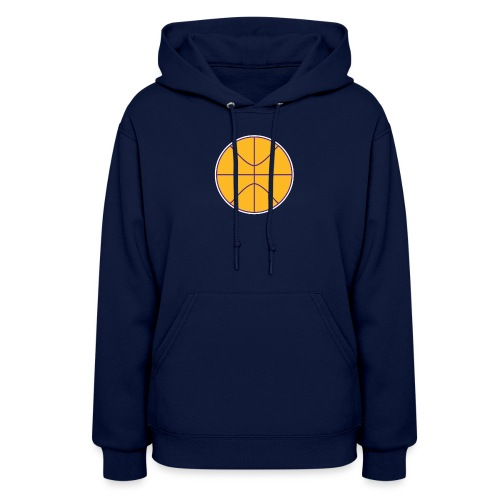 Basketball purple and gold - Women's Hoodie