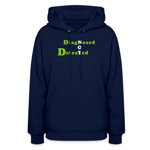 not defeatednourl - Women's Hoodie