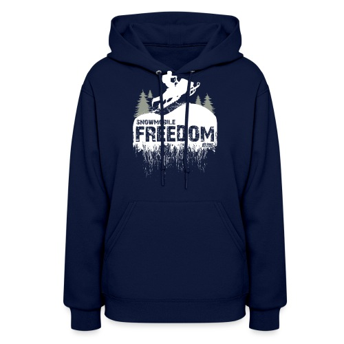 Snowmobile Freedom - Women's Hoodie