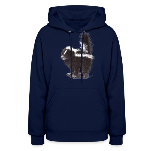 Cool cute funny Skunk - Women's Hoodie