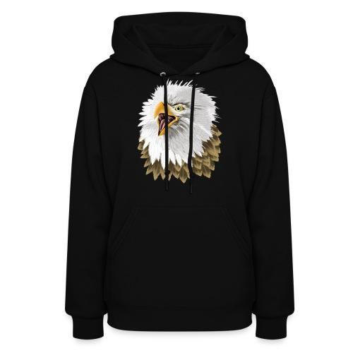 Big, Bold Eagle - Women's Hoodie