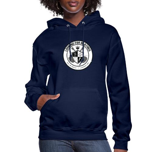 Looking For Heather - Crest Logo - Women's Hoodie