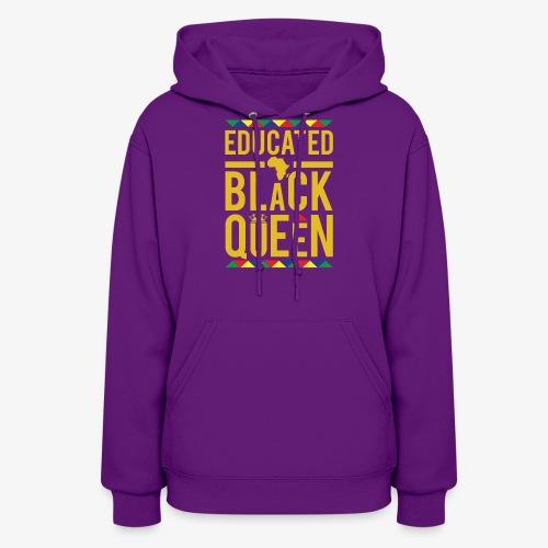 Educated Black Queen - Women's Hoodie