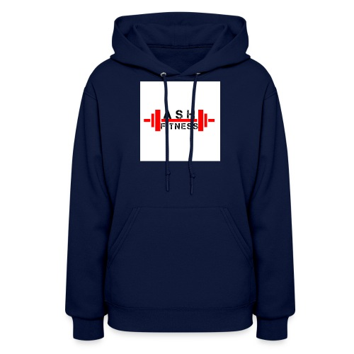 ASH FITNESS MUSCLE ACCESSORIES - Women's Hoodie