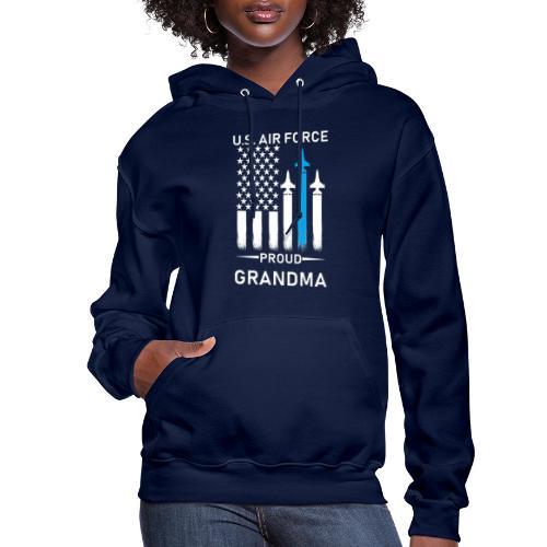 Proud Air Force Grandma - Women's Hoodie