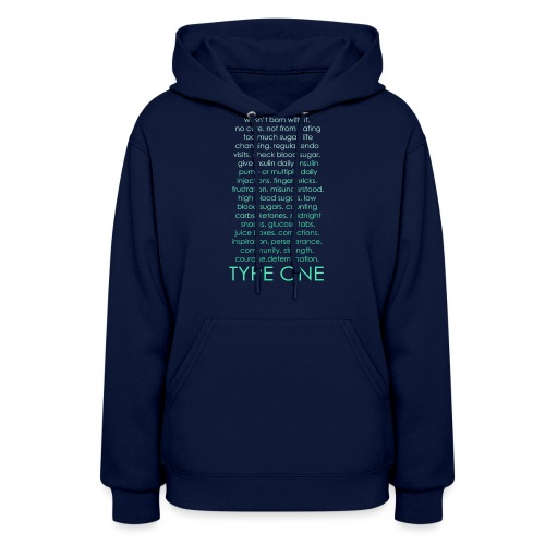 The Inspire Collection - Type One - Green - Women's Hoodie