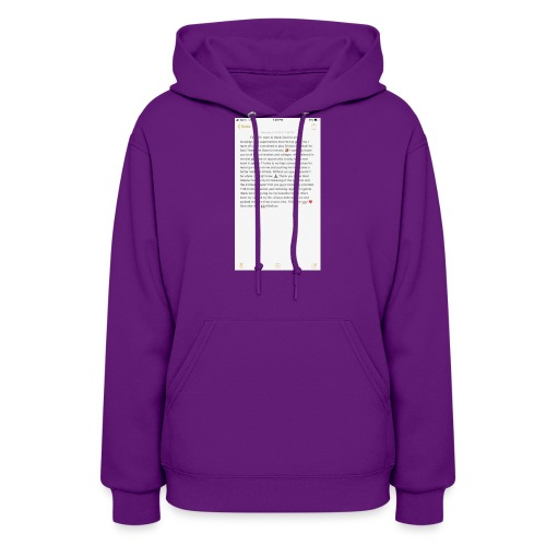 Text from a Football Commit - Women's Hoodie