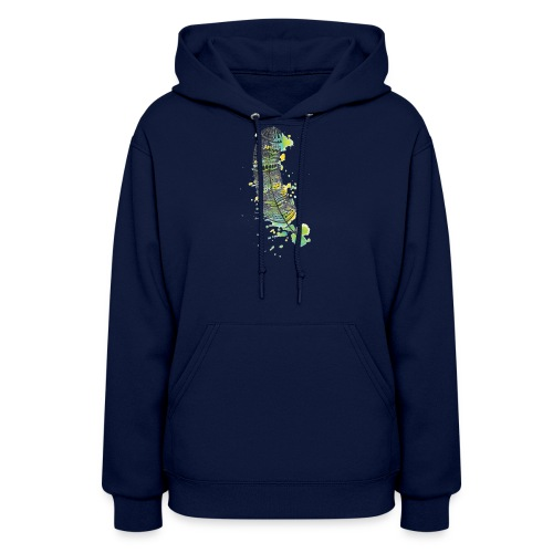 Geometric Feather - Women's Hoodie