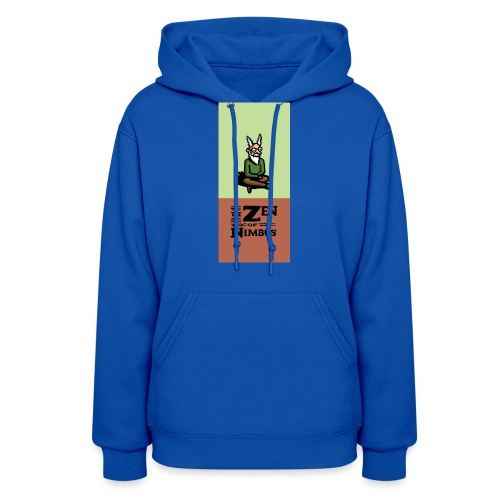 Nimbus and logo full color vertical format - Women's Hoodie