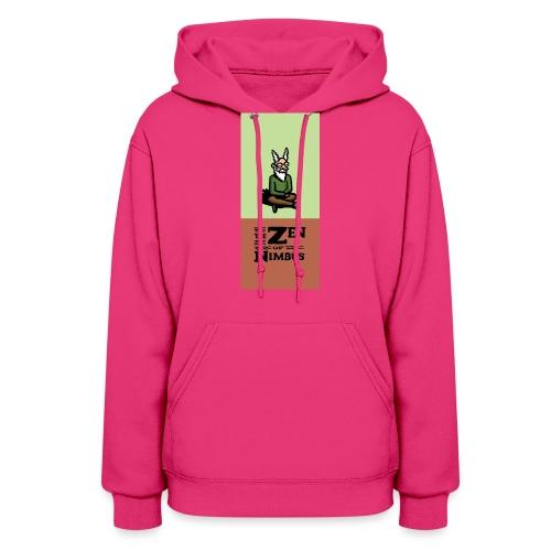 Nimbus and logo full color vertical format - Women's Hoodie