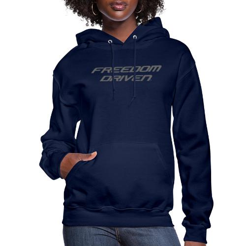 Freedom Driven Official Grey Lettering - Women's Hoodie