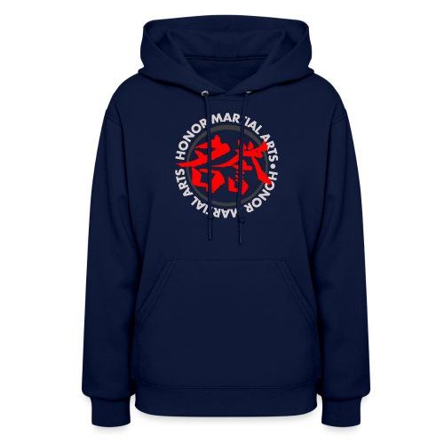 Honor Martial Arts Kanji Design Light Shirts - Women's Hoodie