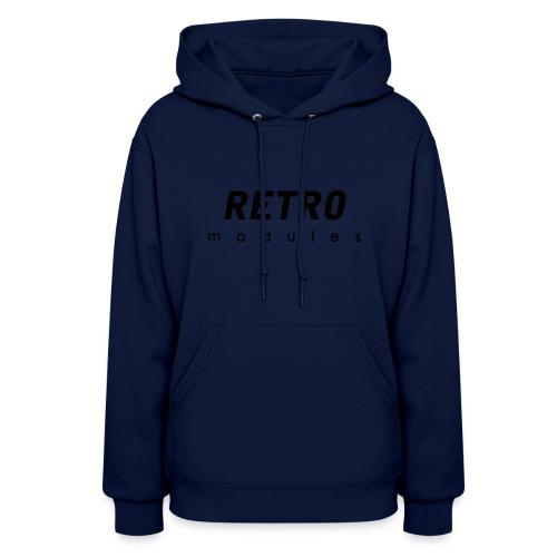Retro Modules - sans frame - Women's Hoodie