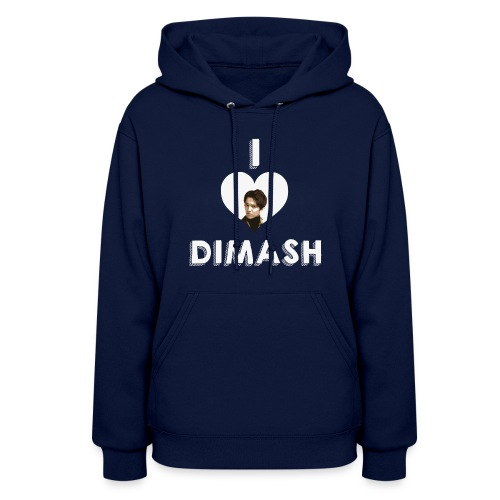 I love Dimash - Women's Hoodie