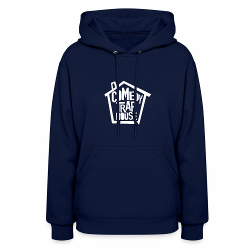 Comedy Trap House (white logo) - Women's Hoodie