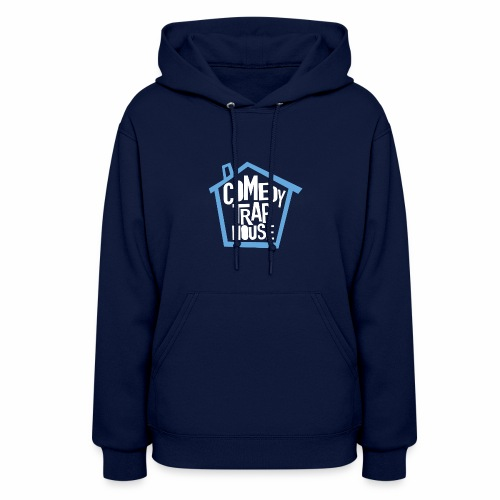 Comedy Trap House (Blue) - Women's Hoodie