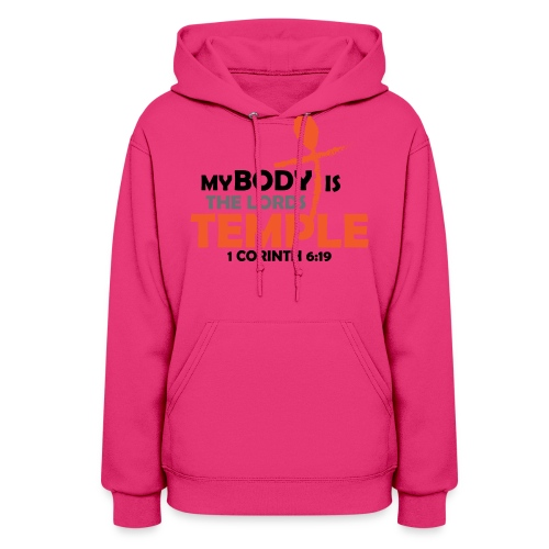 My body/Lords Temple - Women's Hoodie
