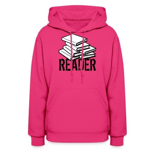 reader - Women's Hoodie